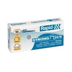 Zošívacie spony Rapid Strong 24/6 mm/1000 ks