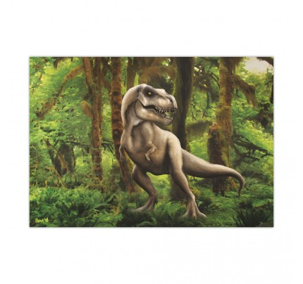 """Plastová podložka na stôl ŠEVT """"dinosaurus"""", 42 x 60 cm"""