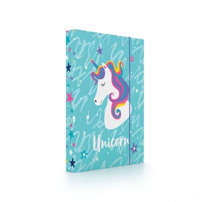 """Dosky s boxom """"Unicorn"""", 2020, A5, lamino"""