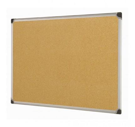 Korková tabuľa v hliníkovom ráme, 60 x 90 cm