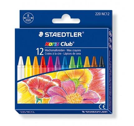Voskové farbičky Staedtler, súprava 12 ks