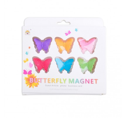 """Magnetky """"motýľ"""", 6 ks"""