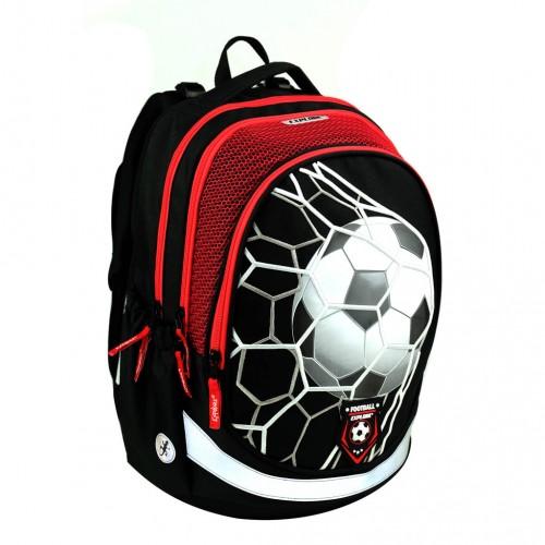 """Anatomická školská taška Explore BAG """"Boys – Football 2020"""""""