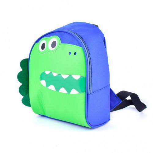 """Detský batoh Languo """"dinosaurus"""" zelený"""