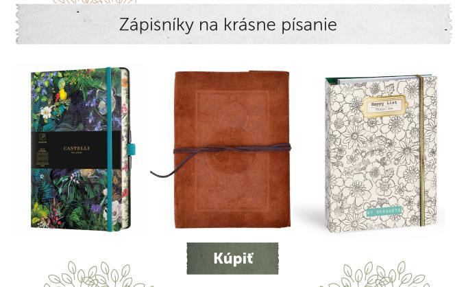 Zápisníky na krásne písanie
